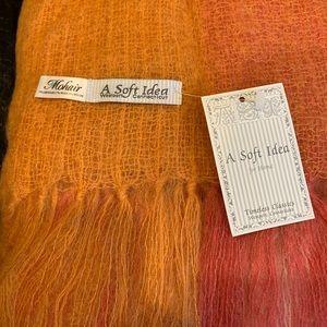 Mohair Throw, loose weave